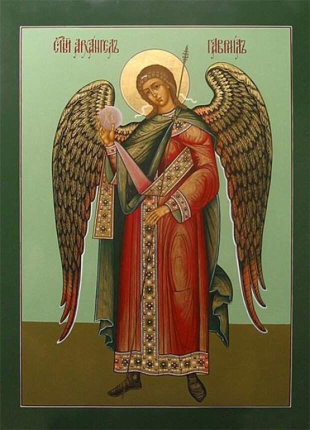8 апреля - Празднование Собора Архангела Гавриила.