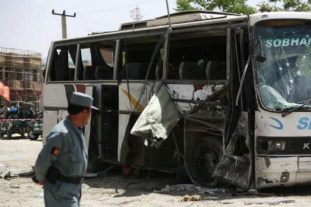 В Афганистане при взрыве автобуса погибли два мирных жителя