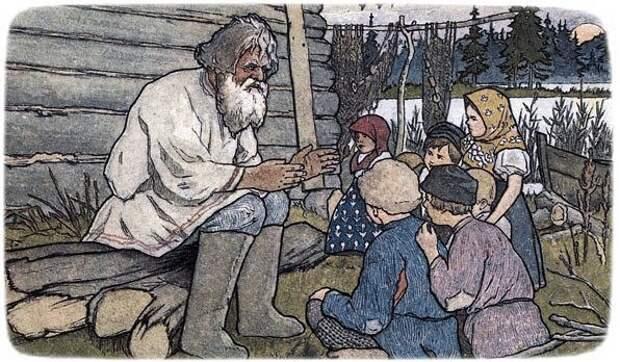 Как наши предки через загадки мудрость детям передавали