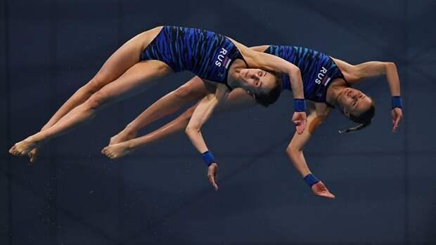 Россиянки Беляева и Тимошинина завоевали золото в прыжках в воду на чемпионате Европы