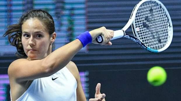 Касаткина победила Шувэй и вышла во второй круг турнира в Парме