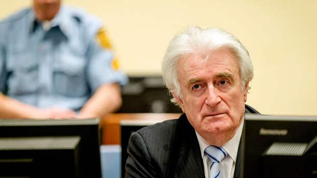 Караджич будет отбывать пожизненное заключение в Великобритании