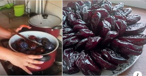 Рецепт приготовления полезных и вкусных цукатов из слив