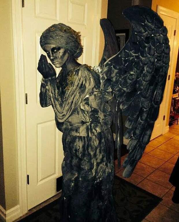 Супер креативные наряды на Хеллоуин