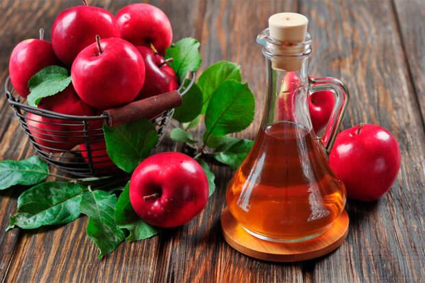 Яблочный уксус при восполнении суставов