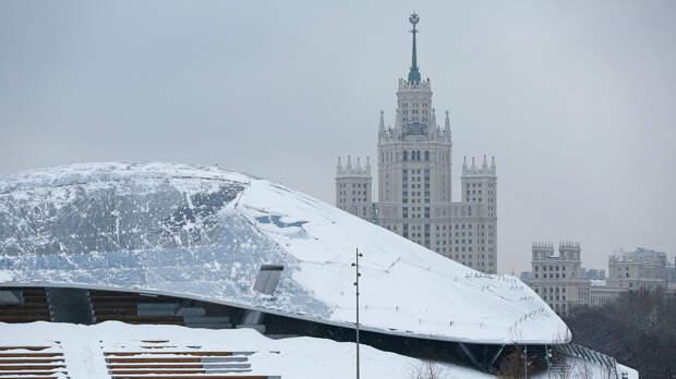 В Москве 22 января ожидаются оттепель, гололед и туман