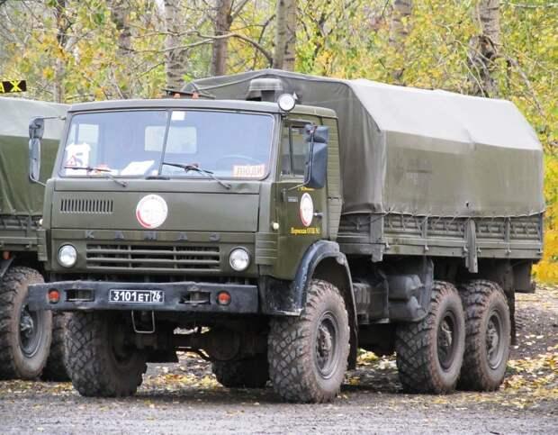 КАМАЗ-4310 – один из лучших вездеходов Советской Армии
