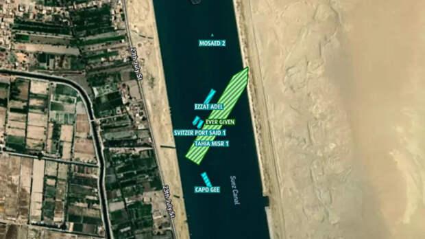 Эксперт назвал блокировку Суэцкого канала организованной провокацией