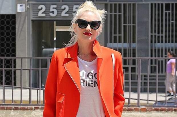 Уличный стиль знаменитости: Гвен Стефани в Лос-Анджелесе