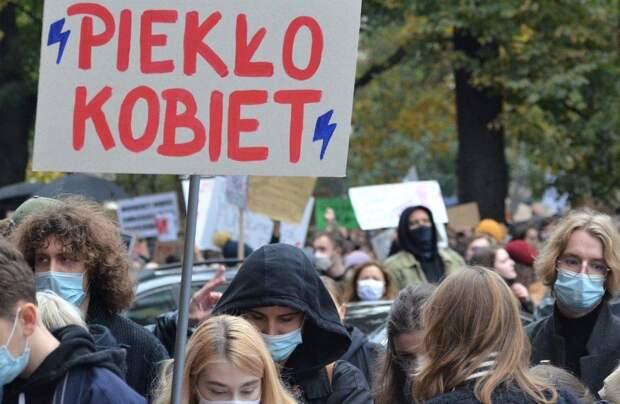 Белорусские протесты перекинулись в Польшу