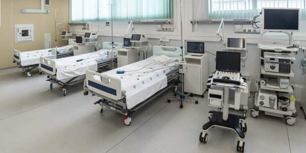 Собянин открыл стационар для лечения пациентов с COVID-19 в ГКБ № 15