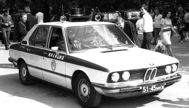 19. «BMW» на службе ГАИ СССР. 1980-е годы. история, фото