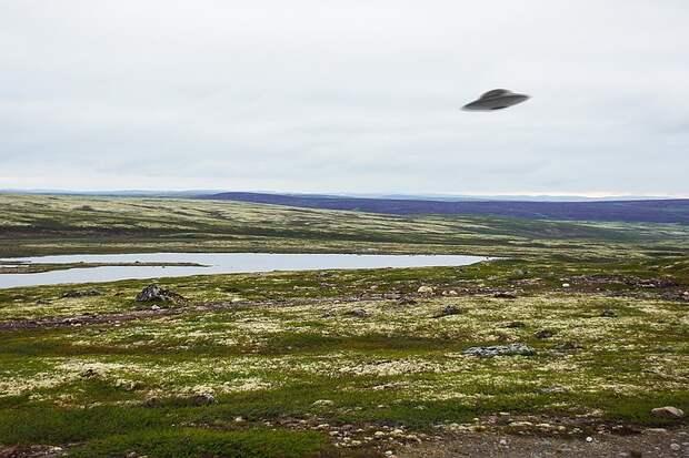 Пролетел НЛО над тайгой, а потом появилась карета