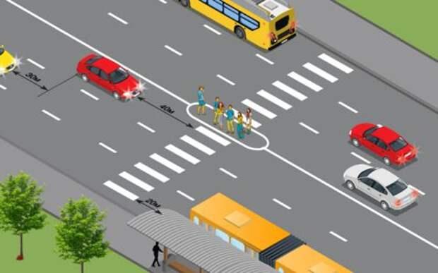 Нервные пешеходы - что с ними делать опытному водителю?