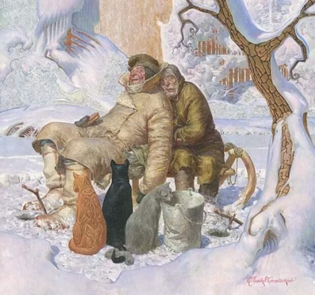 художник Владимир Чумаков-Орлеанский картины – 33