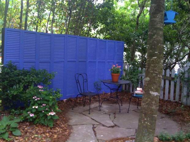 Садовые перегородки: элемент зонирования и защита от посторонних глаз