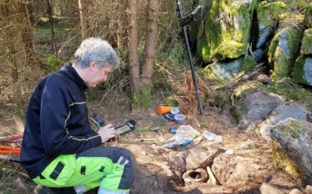 В Швеции случайно найдена сокровищница возрастом 2500 лет