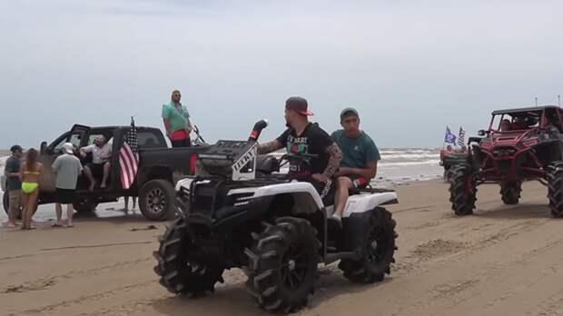 Почти 200 человек задержали в Техасе на фестивале внедорожников и квадроциклов