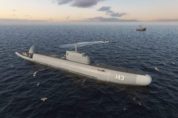 В России разработан ныряющий патрульный корабль