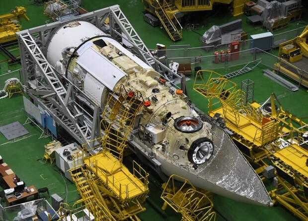 Часть оборудования модуля «Наука» забыли закрыть теплоизоляцией. Запуск могут снова перенести