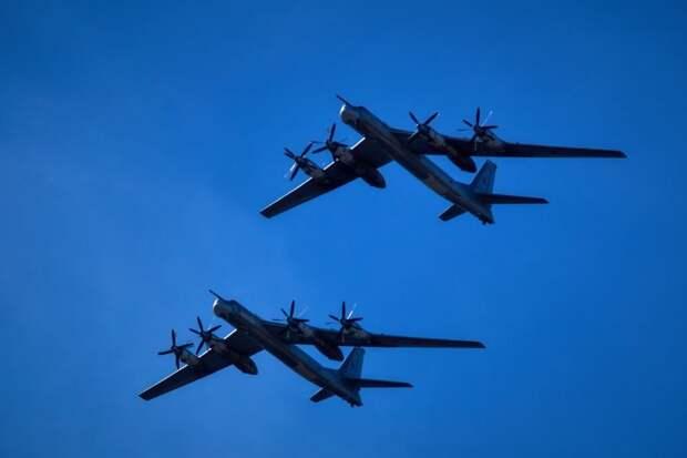 ВВС США пожаловались на разорительные полеты Ту-95 у Аляски