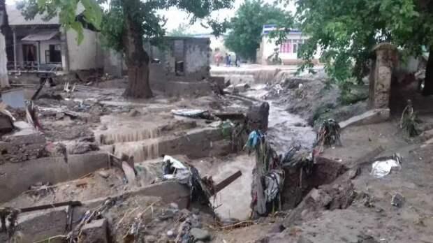 ВТаджикистане 8 человек погибли из-за сильных дождей