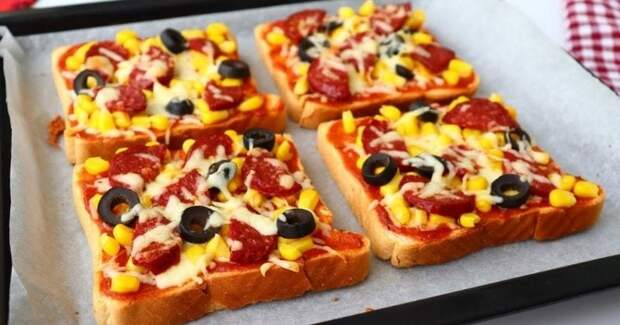 Пицца на хлебе за 15 минут: без заморочек с тестом, а вкус — бомба