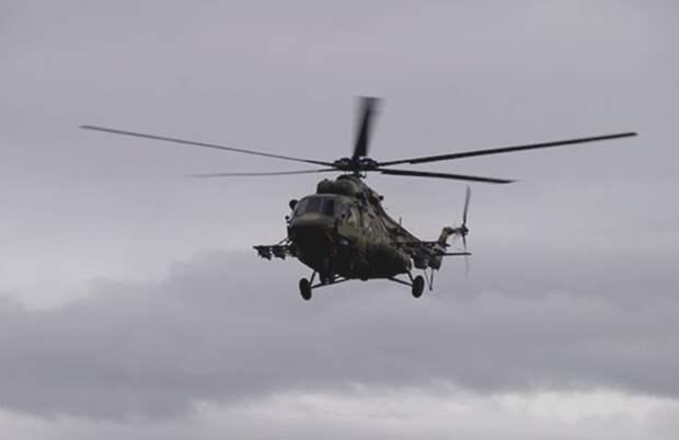 Вертолет Воздушно-космических сил разбился на Чукотке