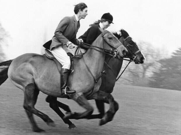Чарльз и Анна в Виндзорском парке, 5 января 1969