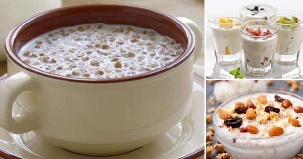 «Холодные мюсли» с кефиром: рецепты полезных завтраков, на приготовление которых уходит всего пару минут