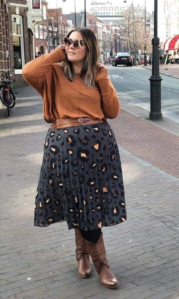 Стильный plus-size: одежда для девушек с пышными формами