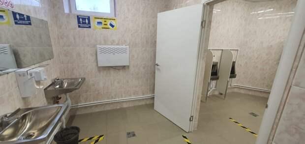 В Северном открылся бесплатный общественный туалет