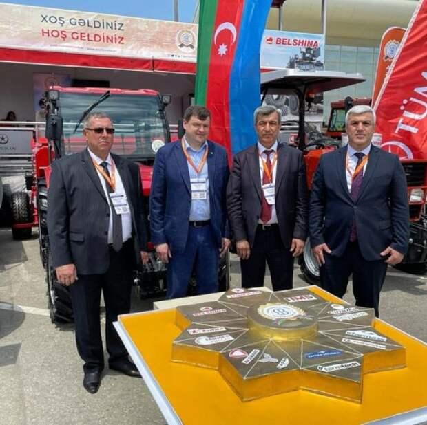 ОАО ´Белшина´ на Международной выставке ´Сельское хозяйство - Caspian Agro 2021´.
