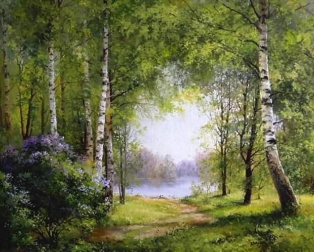 Художник Ян Барткевич (Jan Bartkevics)