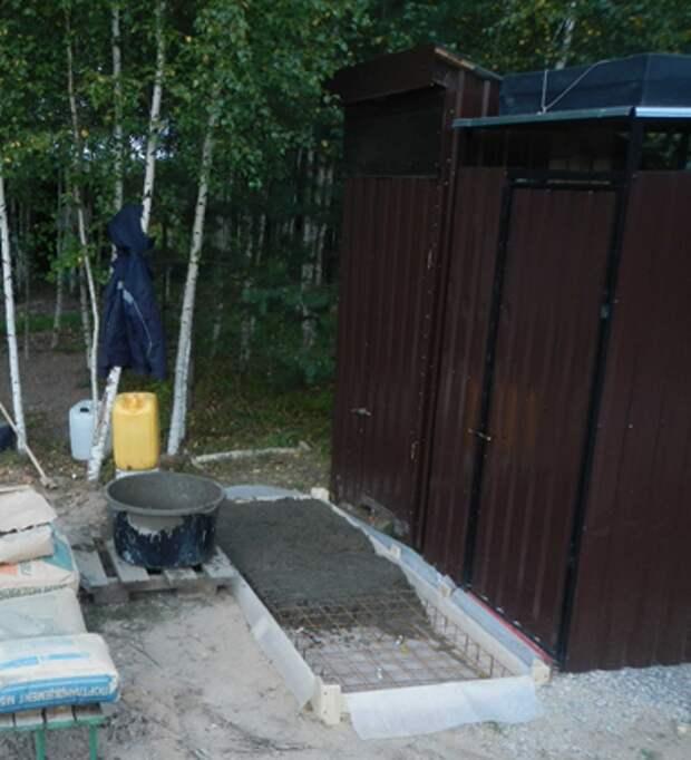 Что нам стоит дом построить... Часть 4. Как сделать своими руками комфортный уличный туалет и душ
