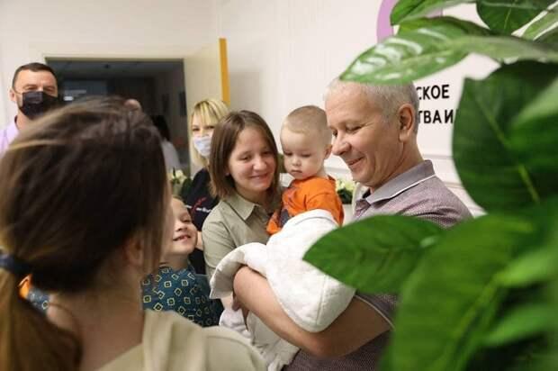 У семьи из Подмосковья родился десятый ребенок