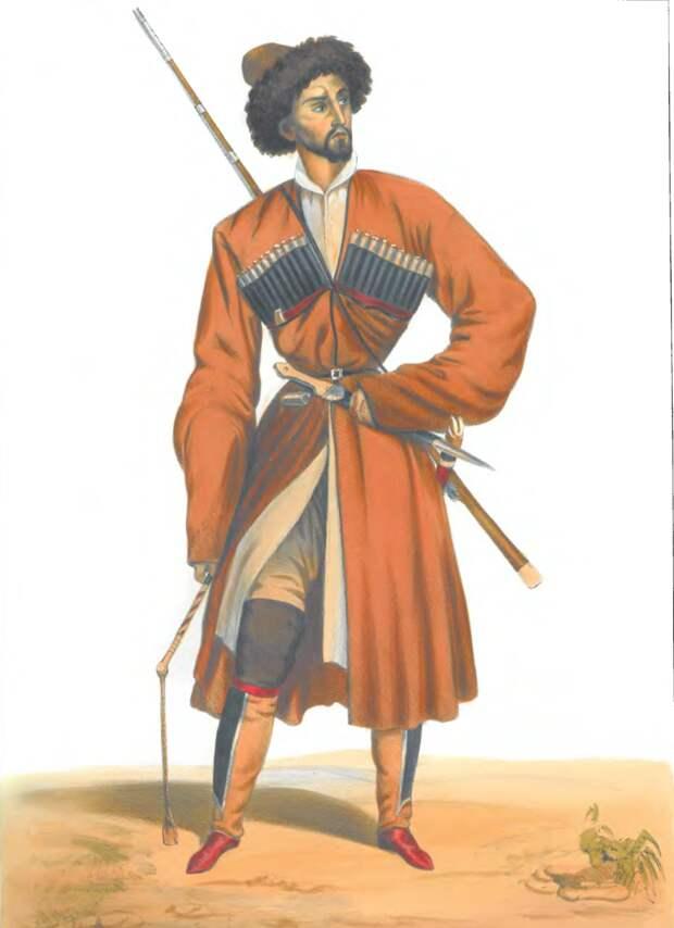 Кабардинец (Гагарин, 1845 год).