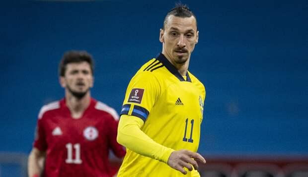 Ибрагимович стал самым возрастным игроком в истории сборной Швеции