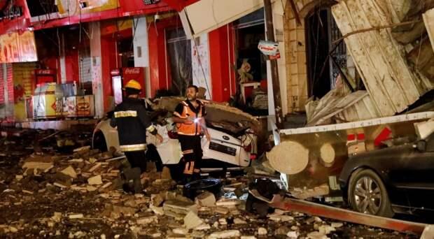 Опубликовано видео последствий ракетных ударов по территории Израиля