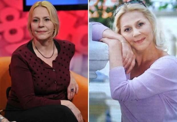 Одна из самых женственных и обаятельных актрис российского кино | Фото: kino-teatr.ru и uznayvse.ru