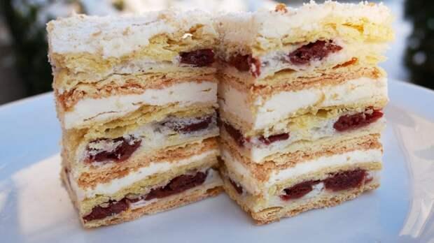 Торт «Непобедимый Наполеон» – яркий праздник вкуса: мой любимый десерт