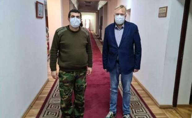 Депутат Госдумы вСтепанакерте: «Карабах непозубам бармалеям изИГИЛ»