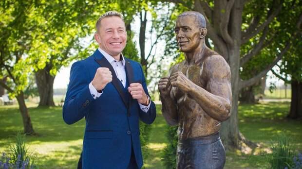 В Канаде появился памятник легенды UFC Жоржа Сен-Пьера