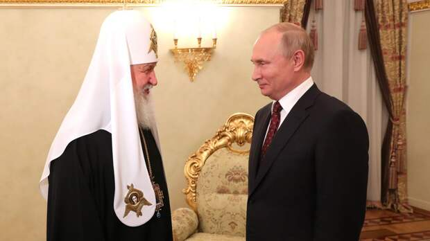 Патриарх Кирилл выразил признательность Путину в поздравлении с Днем России