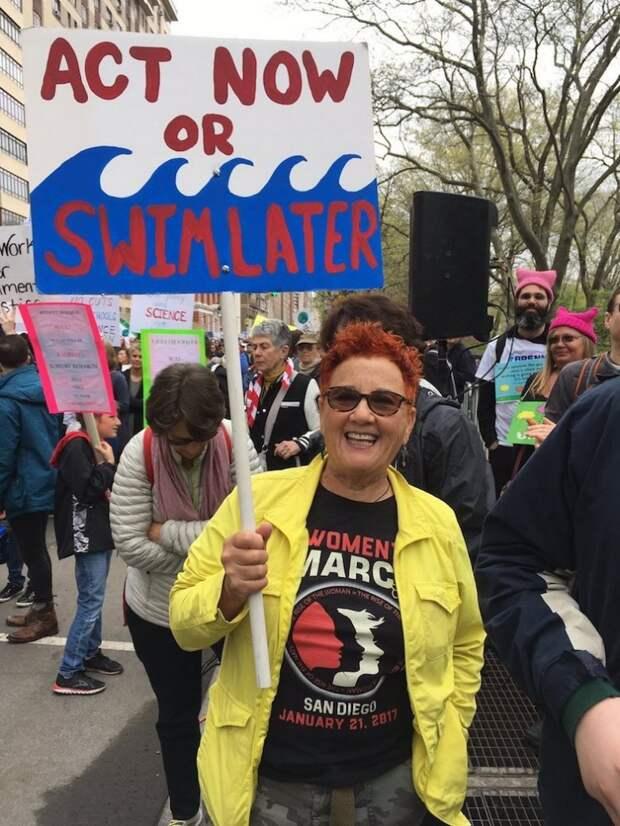 20 самых ярких лозунгов  глобального Марша в защиту науки