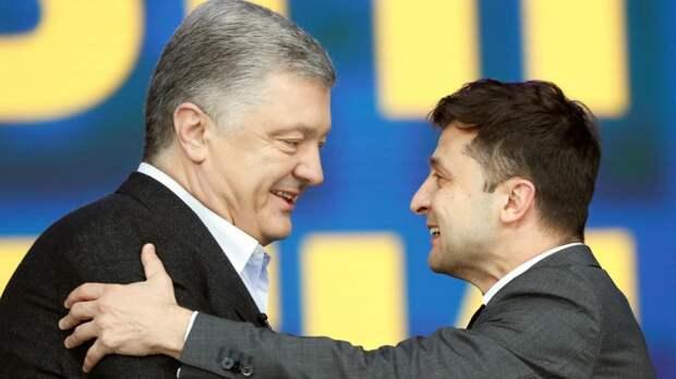 Украинского президента  продолжает колбасить