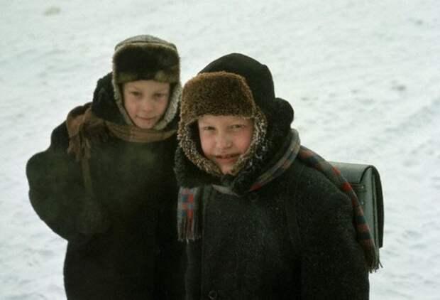 054 Школьники в Иркутске