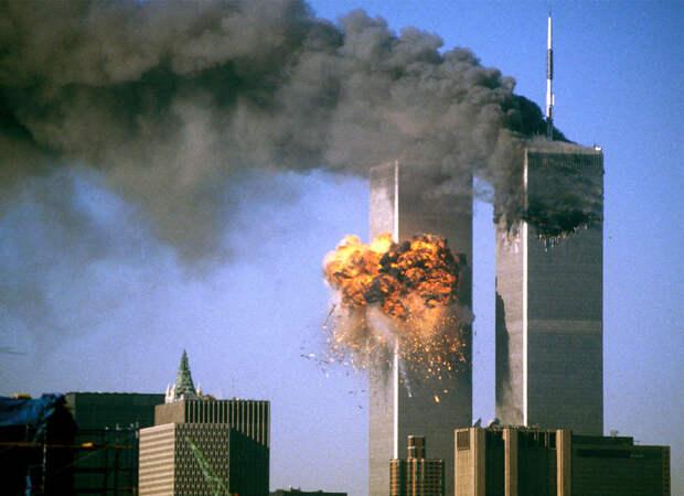 Фото терактов 11 сентября 2001года