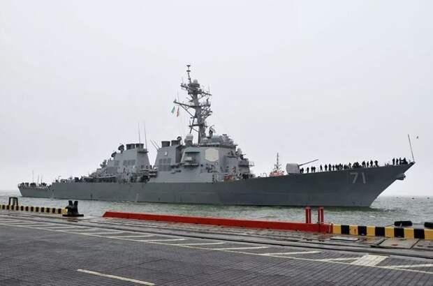В одесский порт зашли пять кораблей НАТО