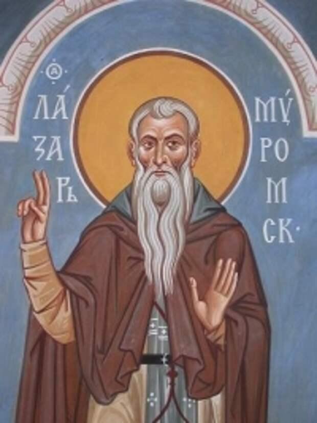 В Карелии отметили 625-летие преставления преподобного Лазаря Муромского